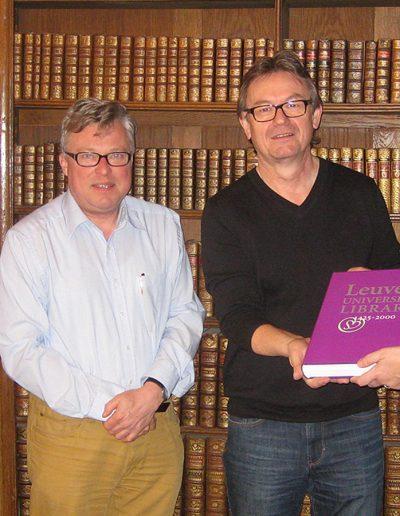 Mit Mark Derez, Geert Bouckaert und Anne Verbrugge